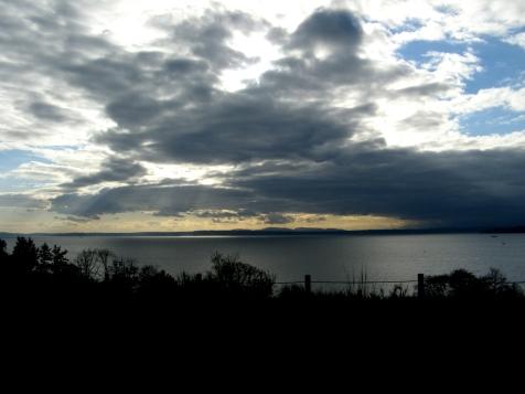 Puget Sound from Richmond Beach Saltwater Park - February 2015.