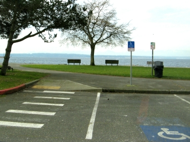 golden gardens park in seattle is very accessibke