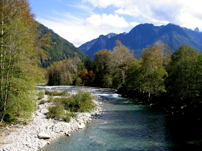 skykomish river at index