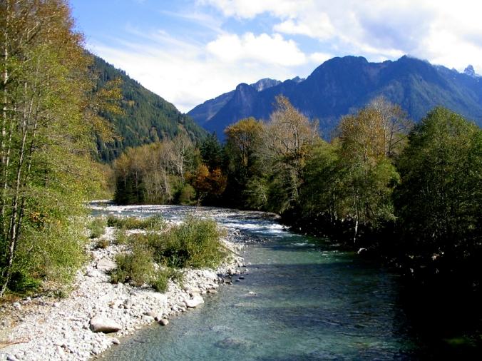 skykomish river at index