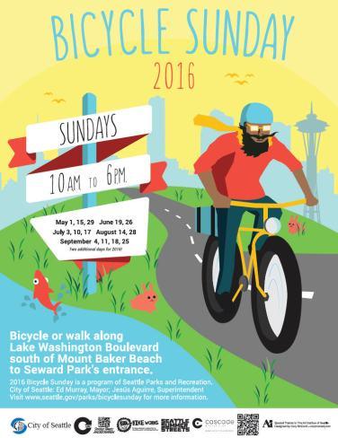 seattle bicycle sundays