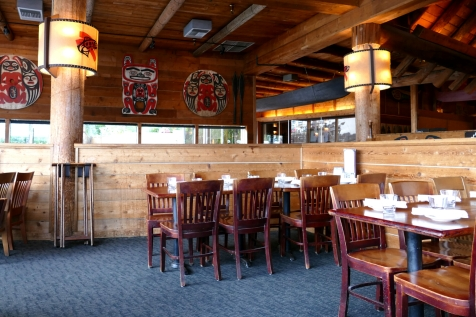 ivar's salmon house interior