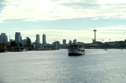 view from ivar's salmon house in seattle